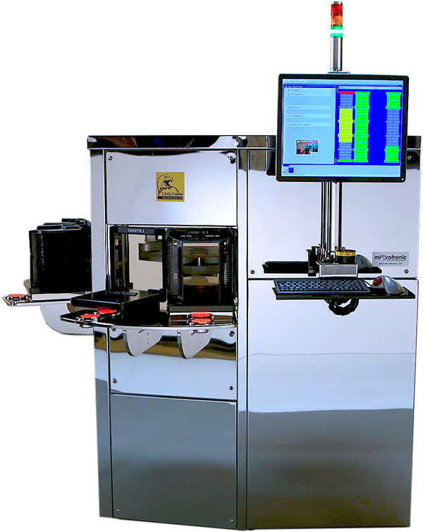 EagleView -- Automated macro defect semiconductor wafer inspection system