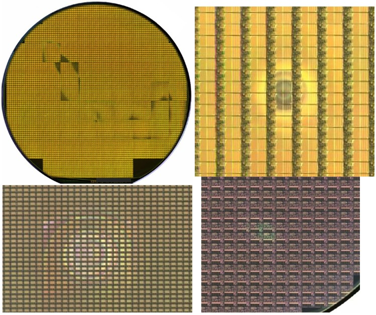 Back Side Contamination - Semiconductor Wafer Defect Image 1