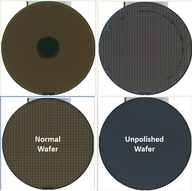 CMP Semiconductor Wafer Defects Image 1