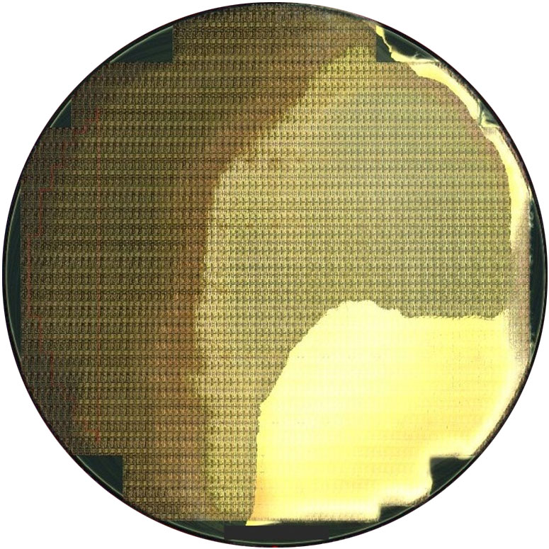 Contamination Large -- Semiconductor Wafer Defect Image - 2