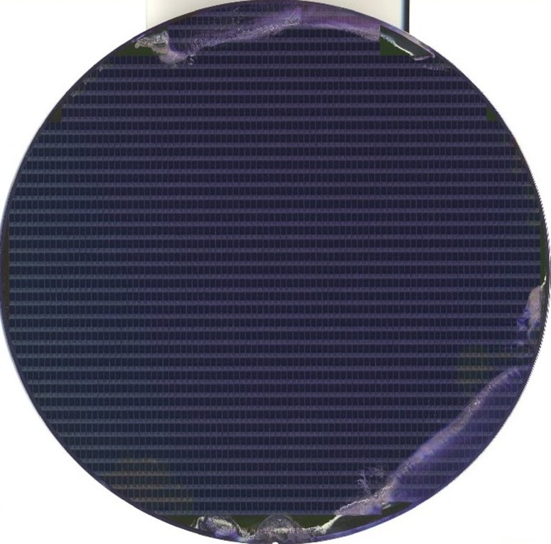 EDGE Discoloration - Semiconductor Wafer Macro Defect Image  - 2
