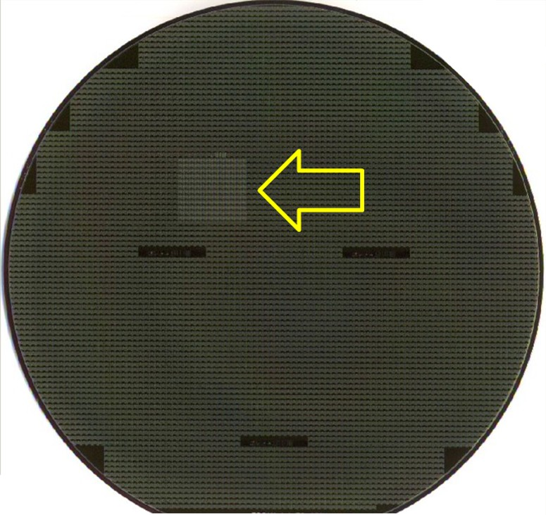 FLASHFIELD  - Semiiconductor Wafer Macro Defect Image - 2