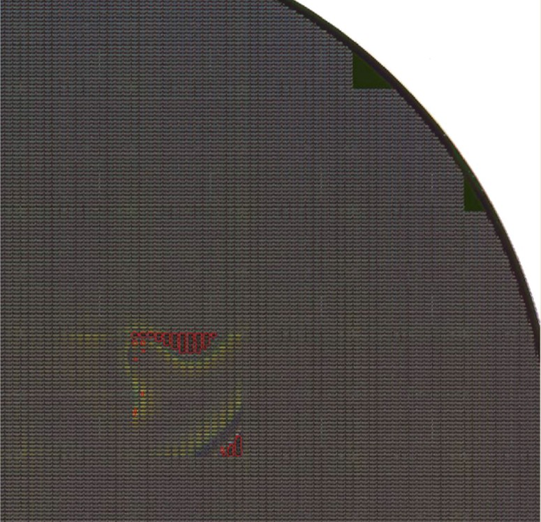 HOTSPOT   - Semiiconductor Wafer Macro Defect Image - 2