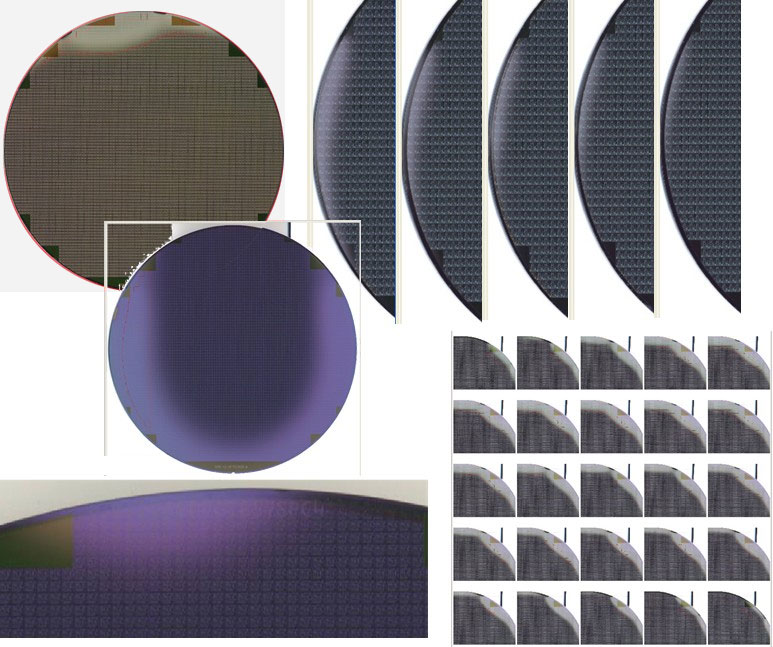 Poly Haze Deposition  - Semiconductor Wafer Macro Defect Image - 1