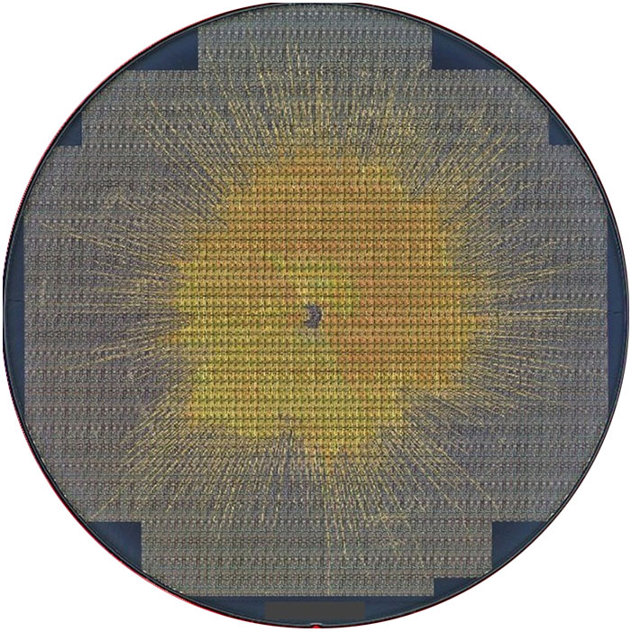 SPIN - Semiconductor Wafer Macro Defect Image - 3